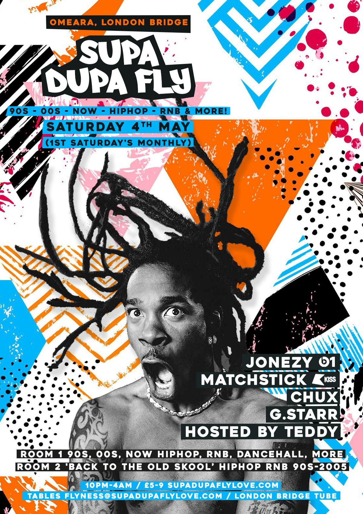 dd6626921cf Supa Dupa Fly x Omeara x 1st Sats