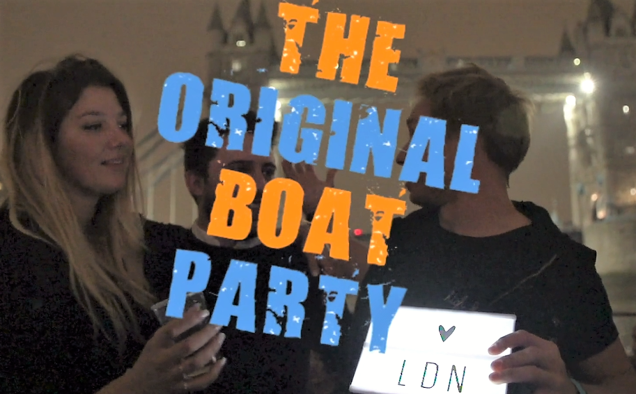 London's Original Boat Party
