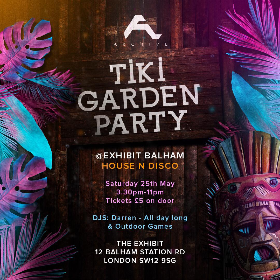 Archive Music: Tiki Garden Party