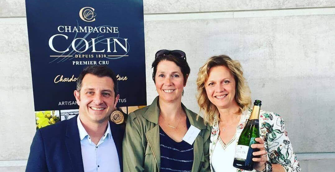 MEET THE GROWER JUNE 2019 | Champagne COLIN Tasting Dinner with Delphine | BATH