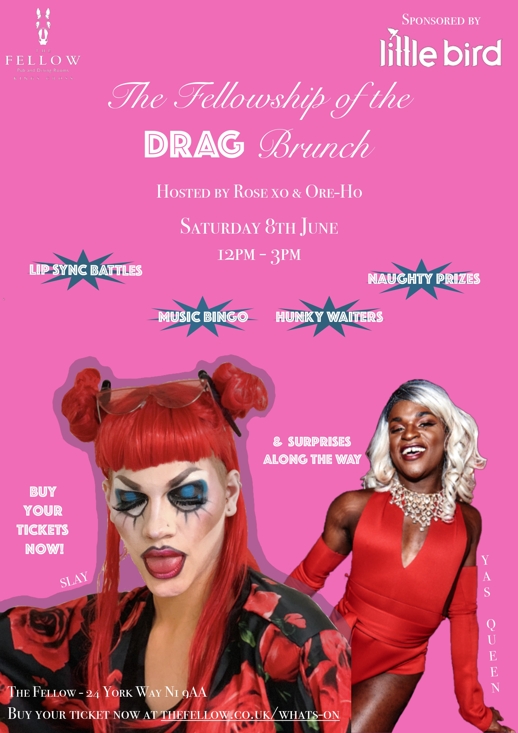The Fellowship of the Drag...Brunch