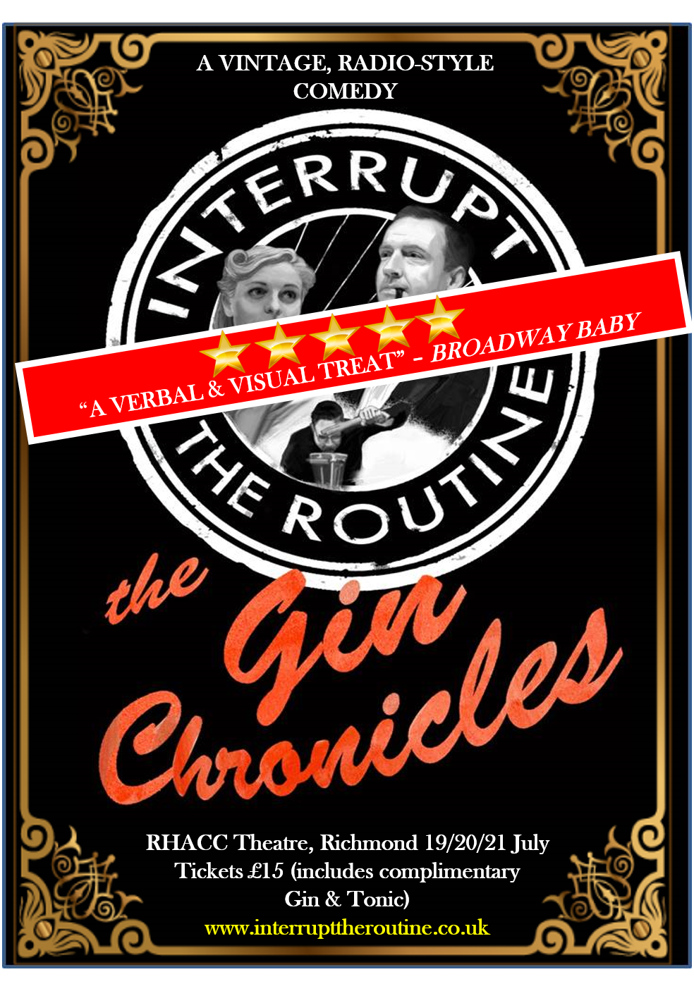 "What's On In Richmond - Theatre Events ""The Gin Chronicles"""