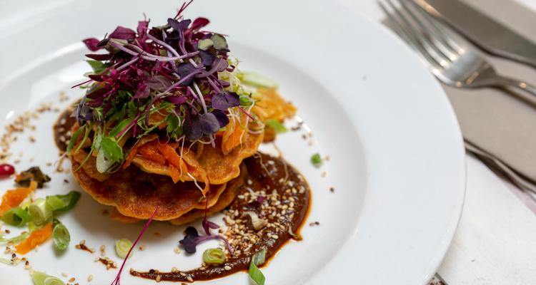 Kimchi Pancakes | Stem + Glory Review | DesignMyNight