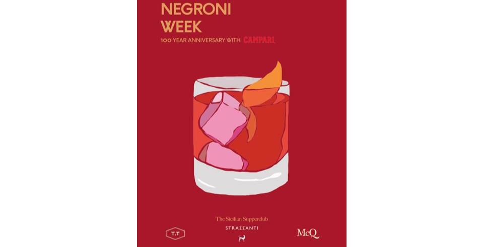 Negroni Week Strazzanti Sicilian Supperclub with McQueens & TT Liquor