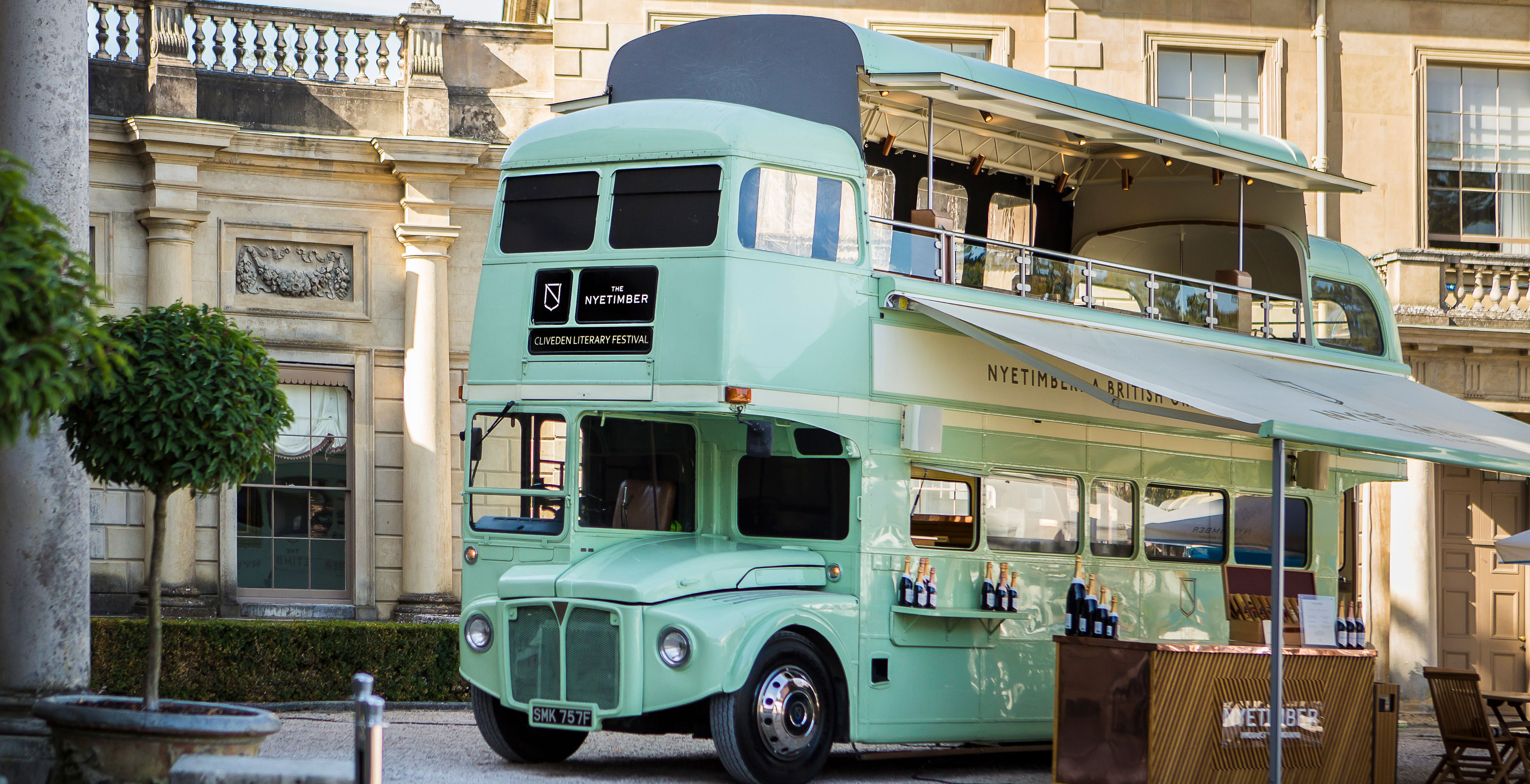 Wiltons and The Nyetimber Bus Experience