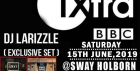 Bbc1 Xtra dj larizzle live @ SWAY. London. Wild Thoughts. SAT: 15th JUNE. Sway Bar.  £5 (No Tickets, No Entry)