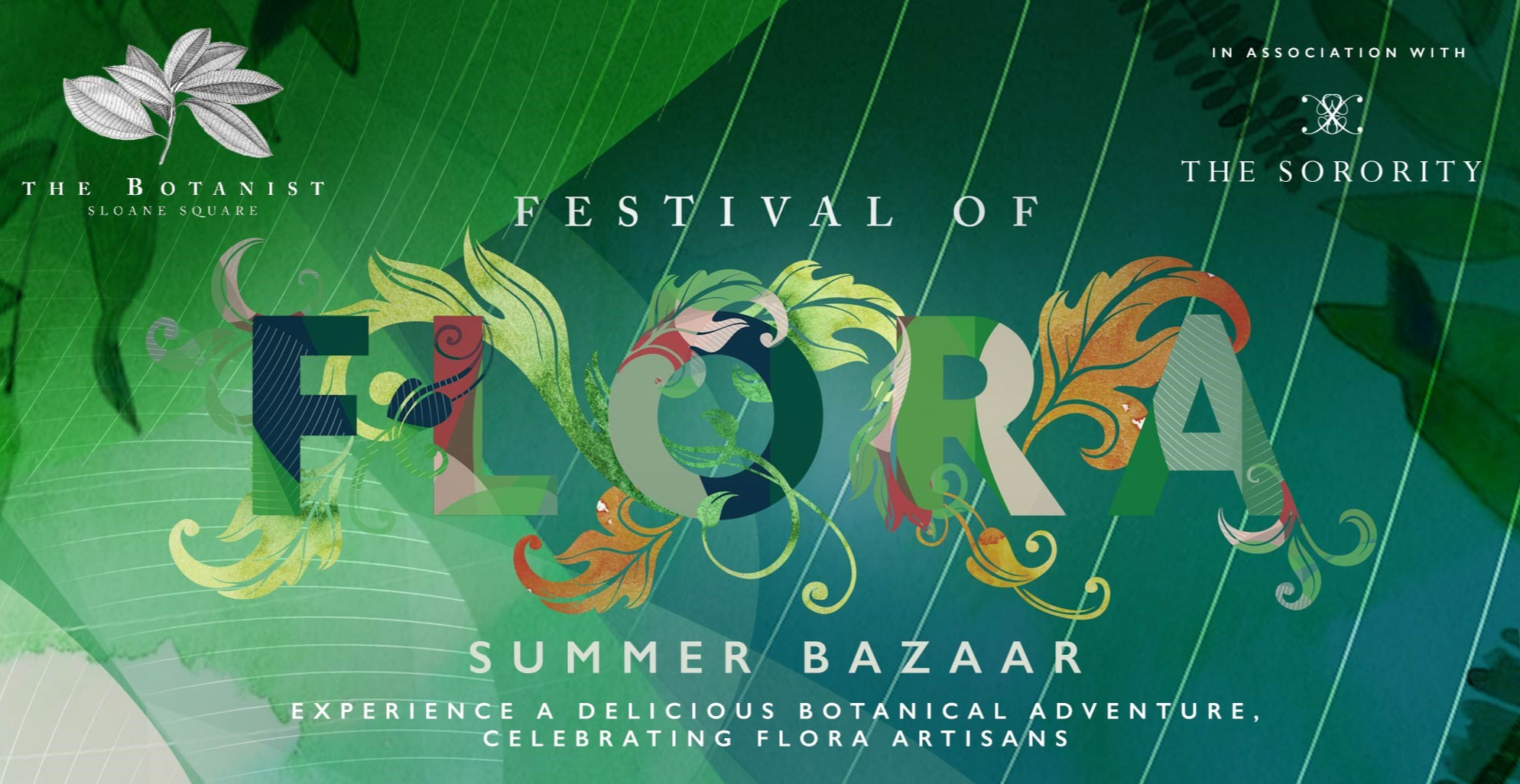 Festival of Flora Summer Bazaar in association with The Sorority