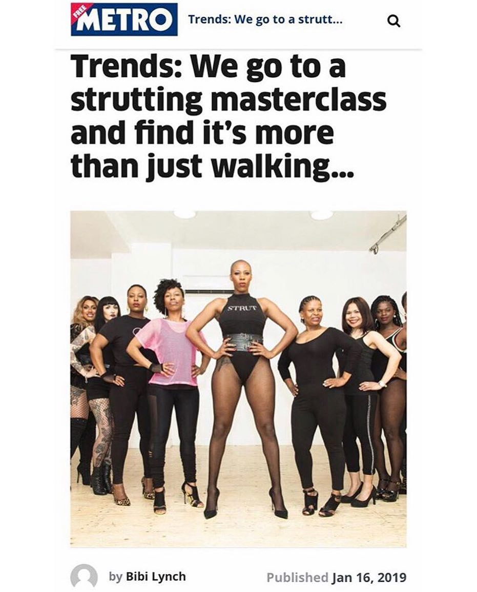 Madam Storms STRUT Masterclass, learn how to walk in heels (women only)