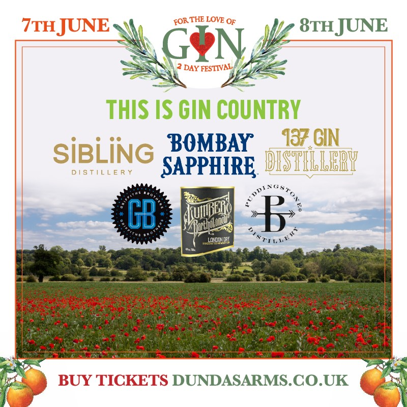 BRAND NEW GIN FESTIVAL IS JUST THE TONIC FOR FANS OF MUCH-LOVED TIPPLE