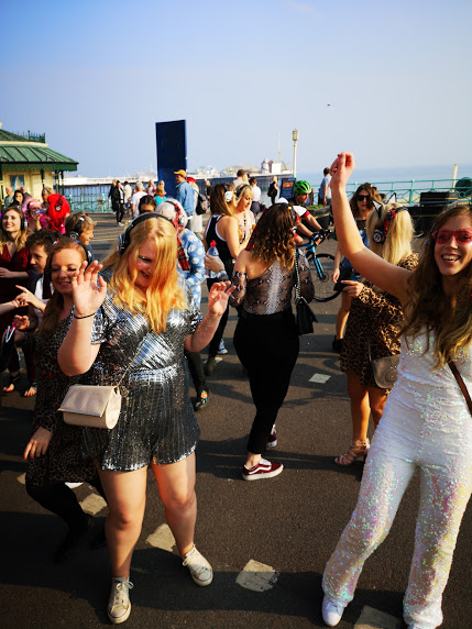 Hen/Stag Party Silent Disco Rave-Walk around Brighton with Boogie
