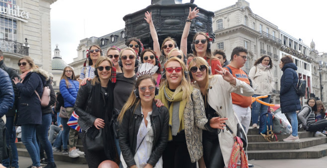 Silent Disco Tour Hen Party