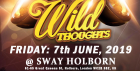 SWAY. Wild Thoughts. Central London. Friday 7th JUNE. Sway Bar.  £5
