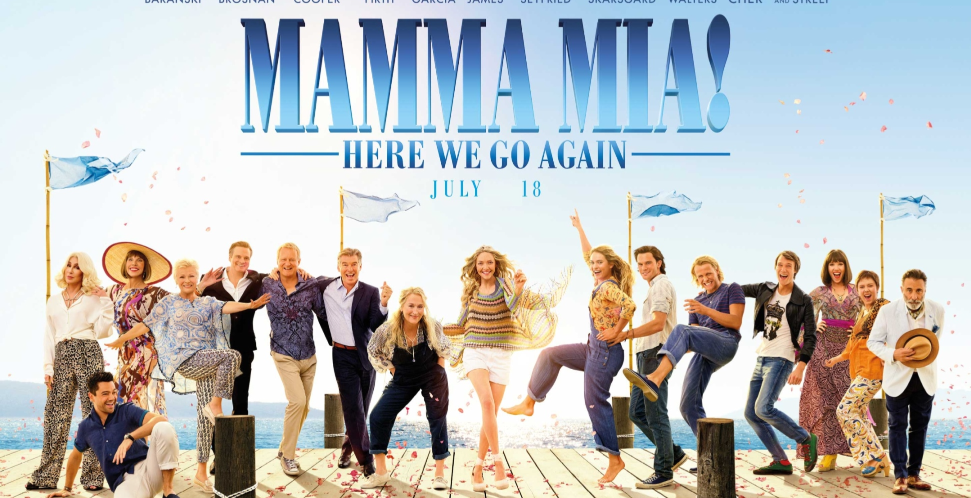 Outdoor Cinema  Dulwich - Mamma Mia: Here We Go Again (PG)