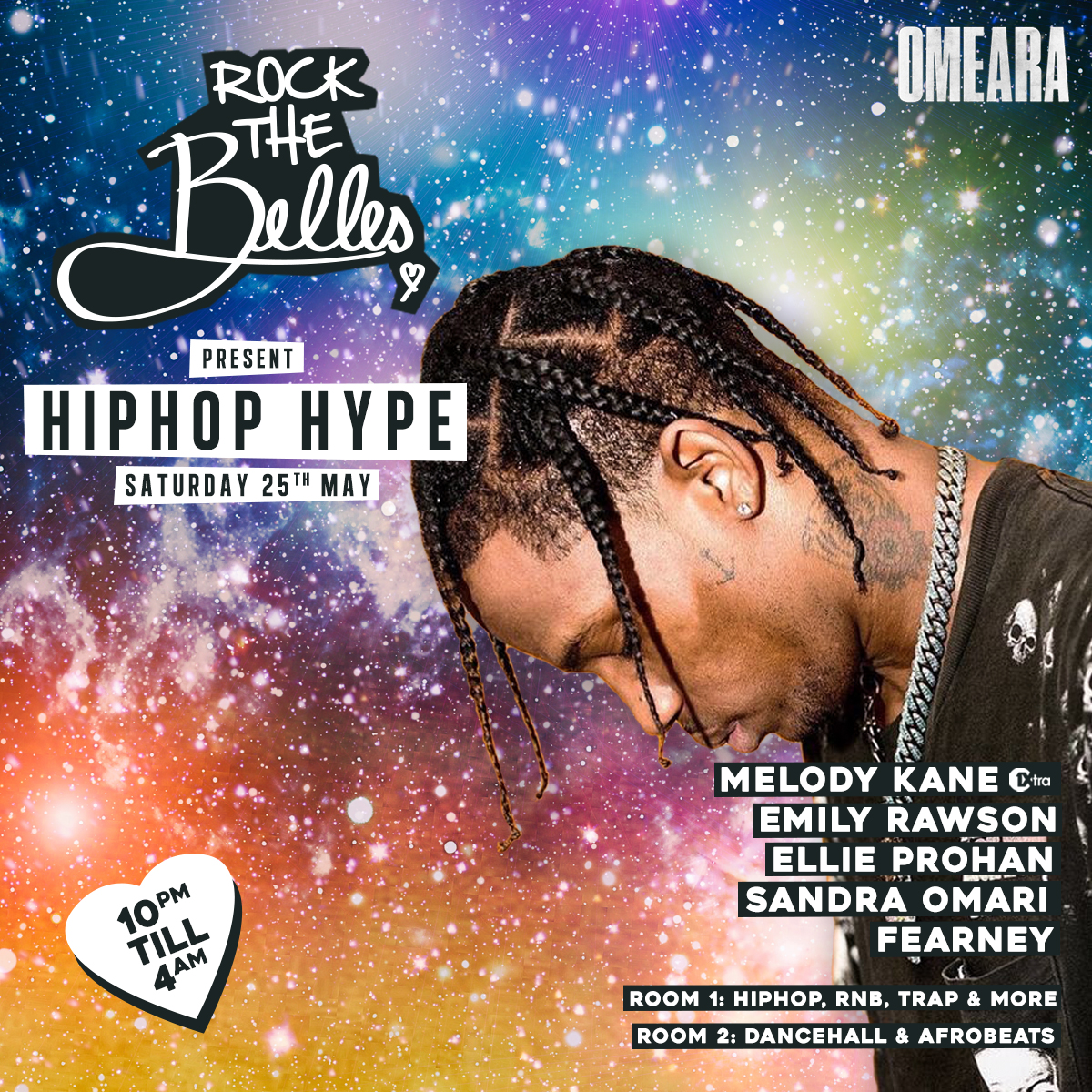 Rock The Belles x Hiphop Hype x Omeara