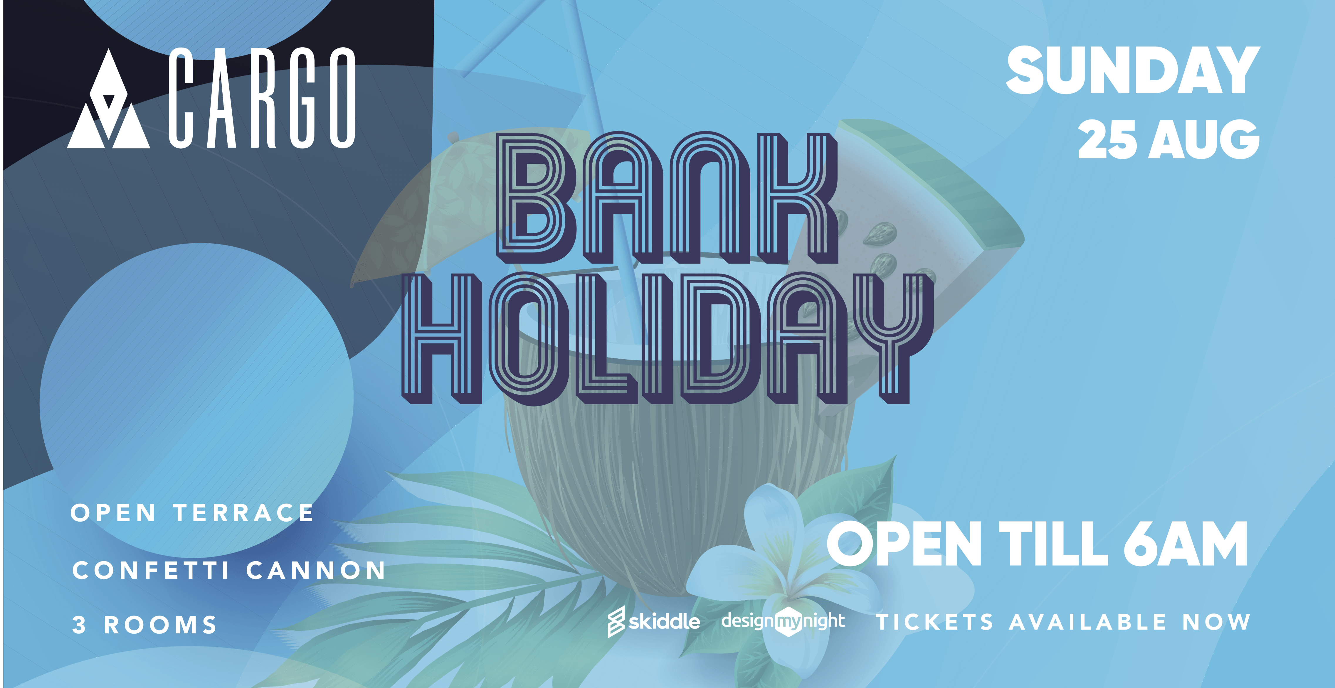 Bank Holiday Sunday at Cargo