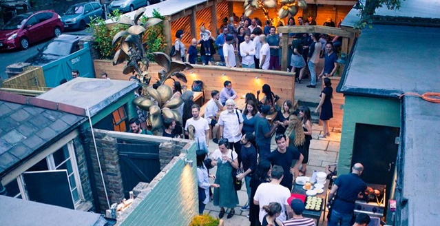 Absolut Garden Party Supper Club
