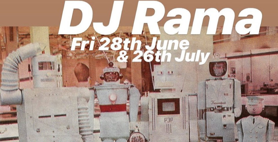 DJ Rama// 80s Hip Hop, Post Punk, New Wave, 90/00s Rock & Electronica