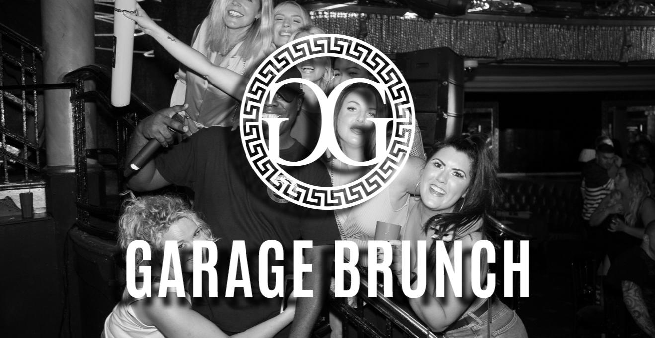 Garage Brunch & Design My Night 21st September BRUNCH WEEKENDER!