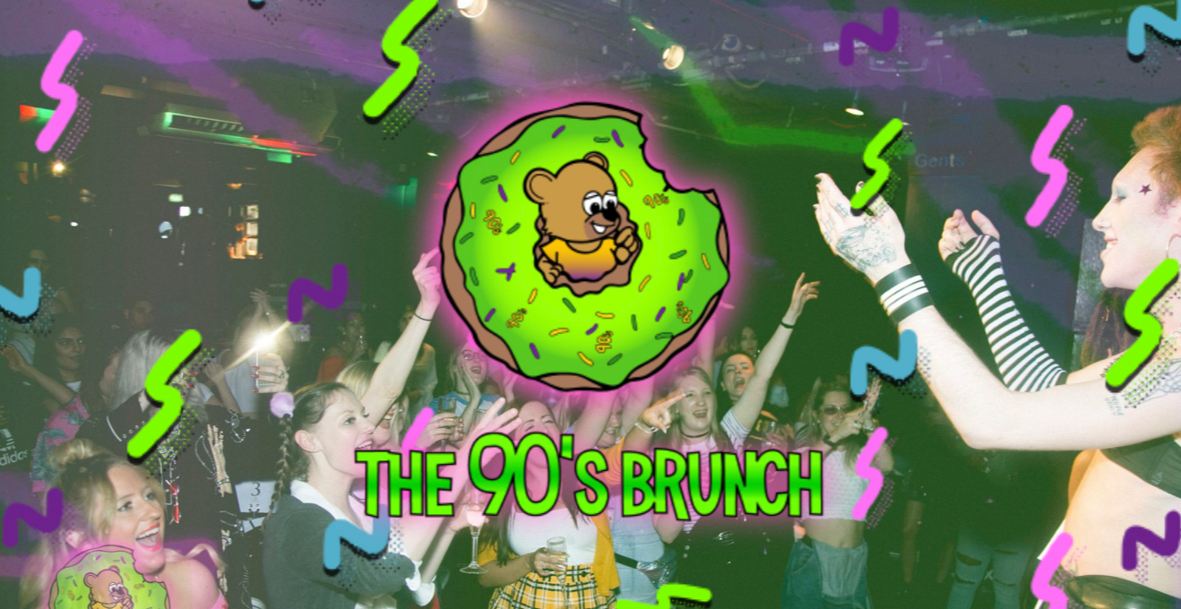 The 90s Brunch 26th October - HalloSCREAM