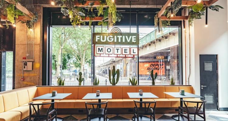Fugitive Motel | London Bar Reviews | DesignMyNight
