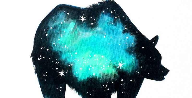 ArtNight - Painting Workshop - Galaxy Bear