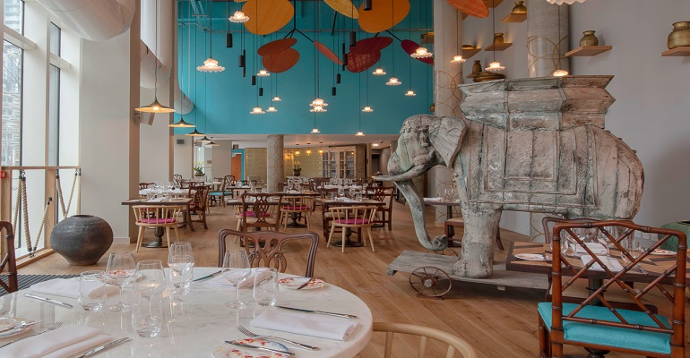 Summer Tandoori Experience at Mr Todiwala's Kitchen with Cyrus Todiwala OBE DL , hosted by Lincoln Plaza London