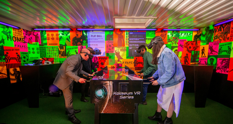 House of Foos Virtual Foosball