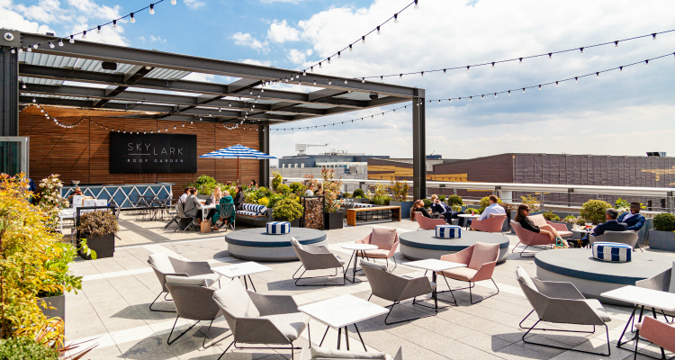 Skylark Roof Garden | London Restaurant News | DesignbMyNight