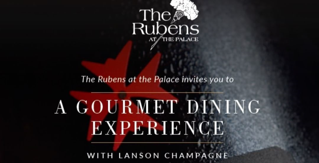 The Rubens at The Palace Dinner Series: Lanson Champagne Experience £95 per person