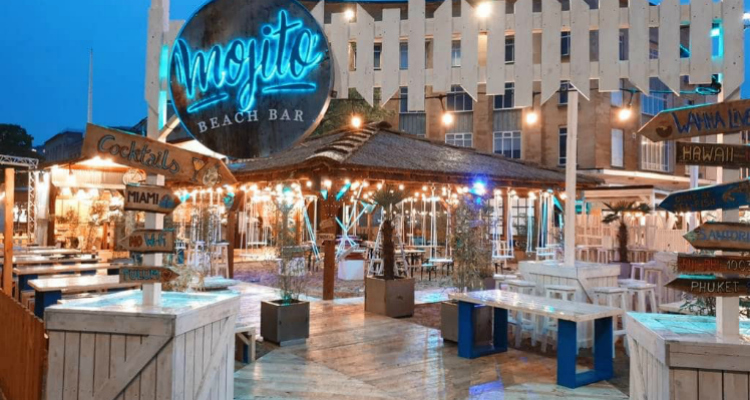 Mojito Beach Bar | Bristol Summer Pop-Up | DesignMyNight