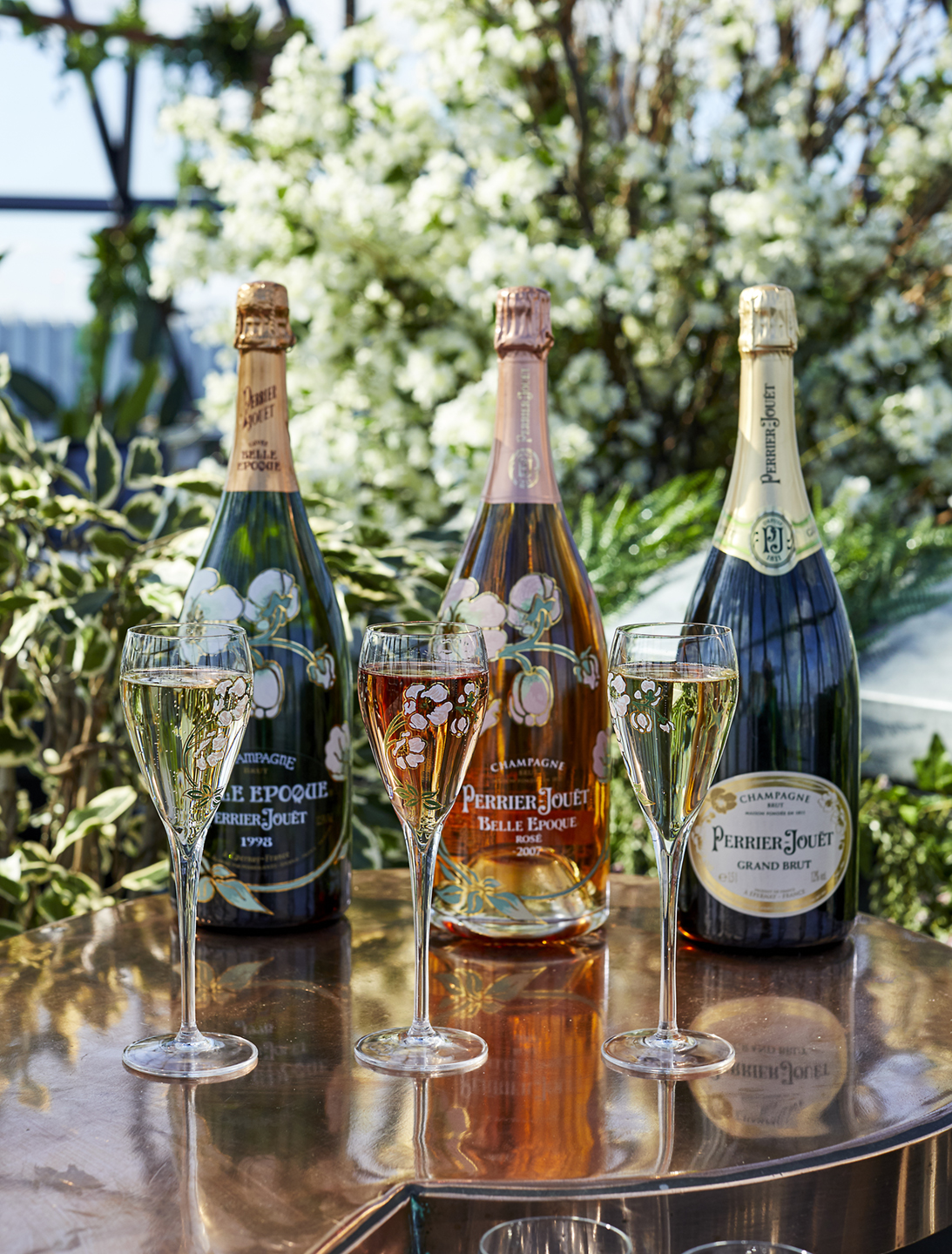 The Table of Tastes by Perrier-Jouët
