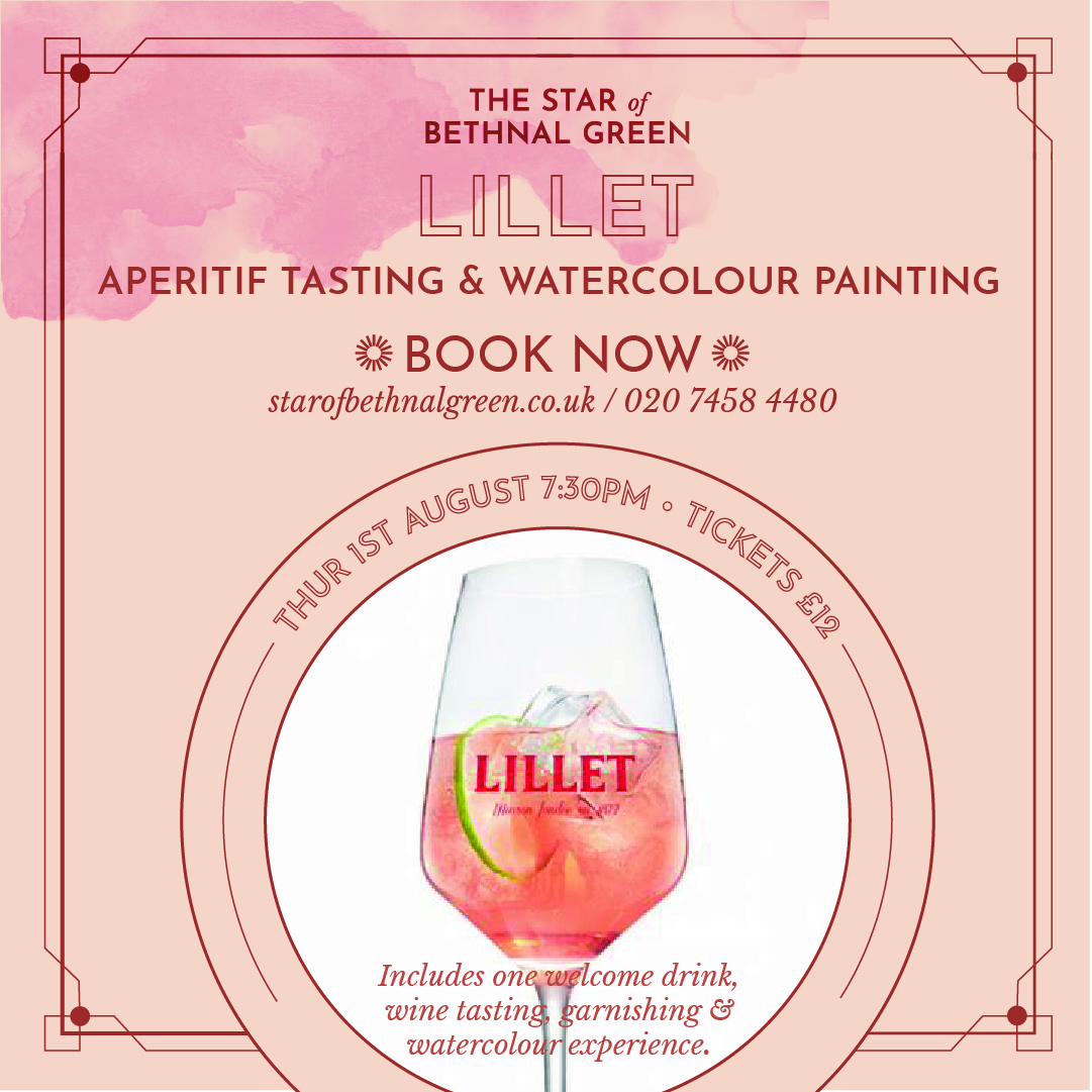Lillet Wine Tasting & Watercolour Painting