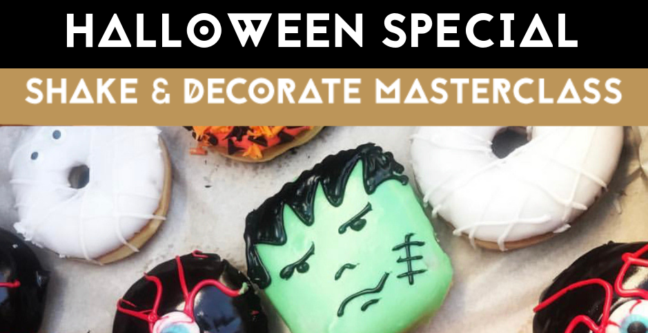 Shake & Decorate Masterclass - HALLOWEEN SPECIAL