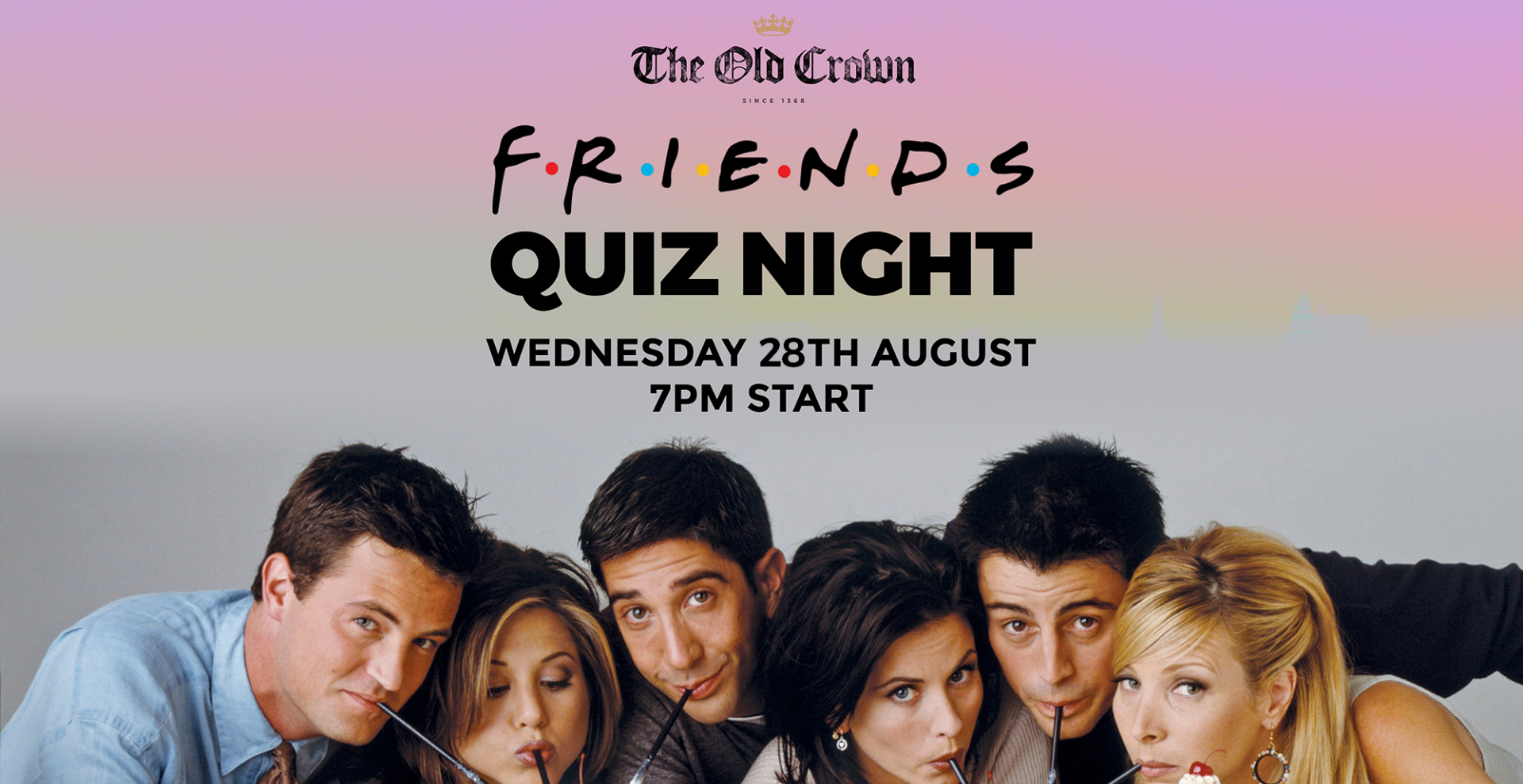 Friends Quiz at The Old Crown