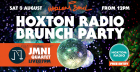 Hoxton Radio Brunch party at Harlem Soul, followed by JMNI Band!