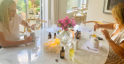 Beginners aromatherapy candle making workshop by Yougi London