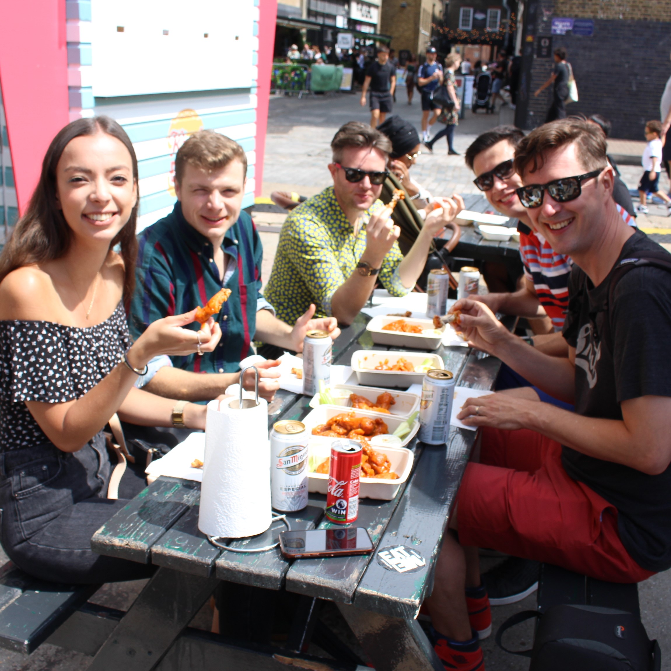 East London Chicken Wing Crawl
