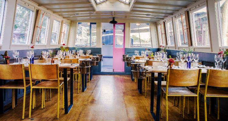 Boat Restaurants London