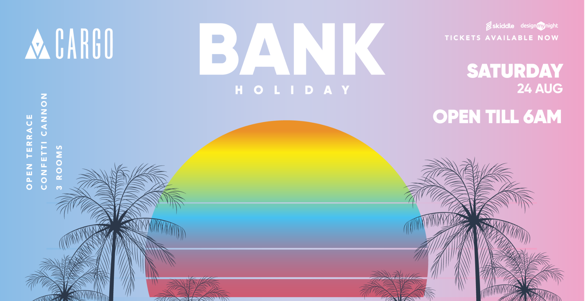 Bank Holiday Saturday at Cargo
