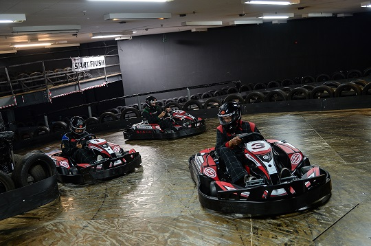 Go Karting Christmas Parties in Central London