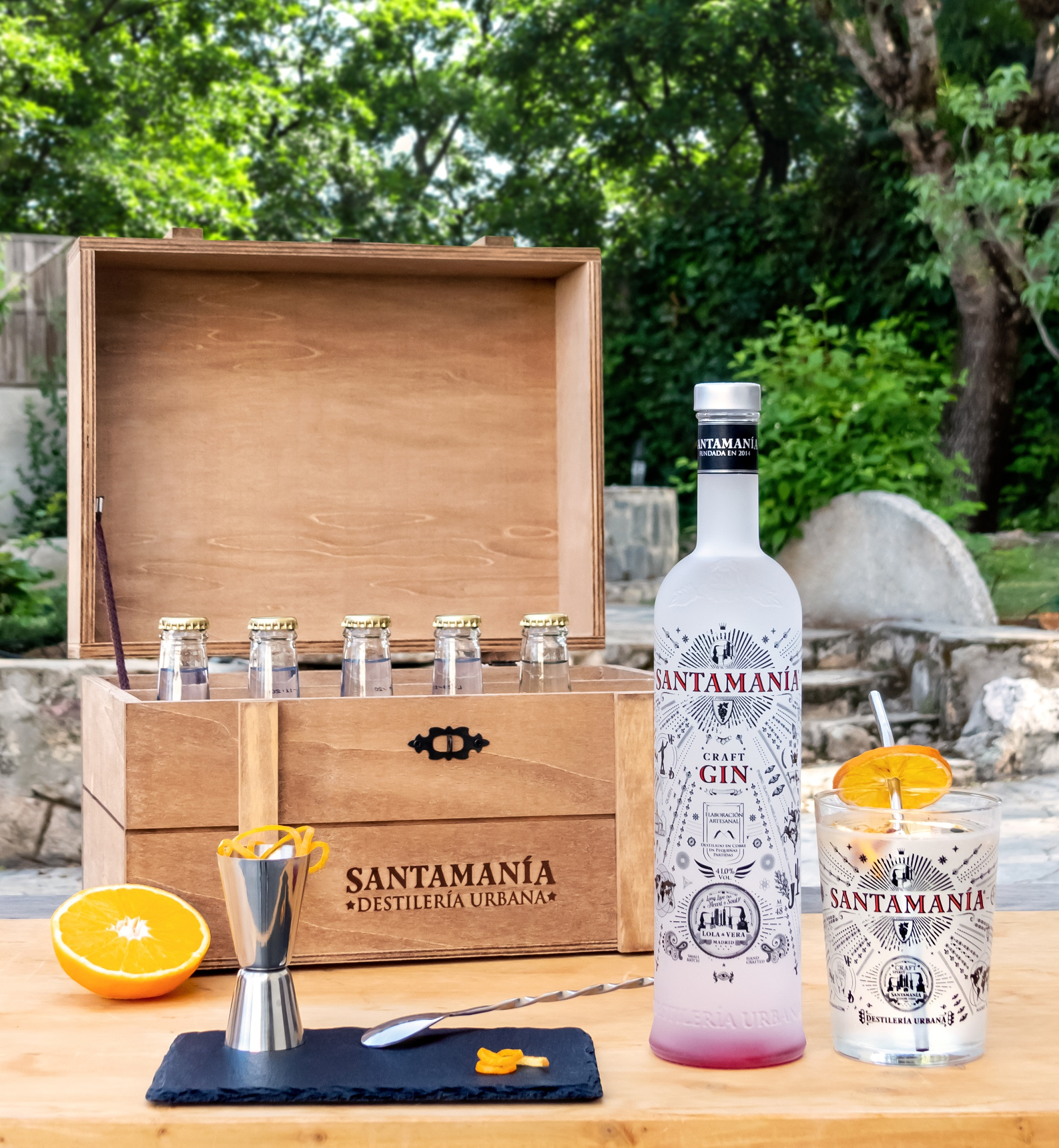 Meet the Distiller Cocktail Masterclass with Santamanía