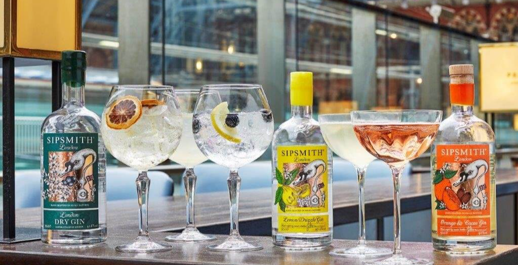 GIN SUPPER IN COLLABORATION WITH SIPSMITH