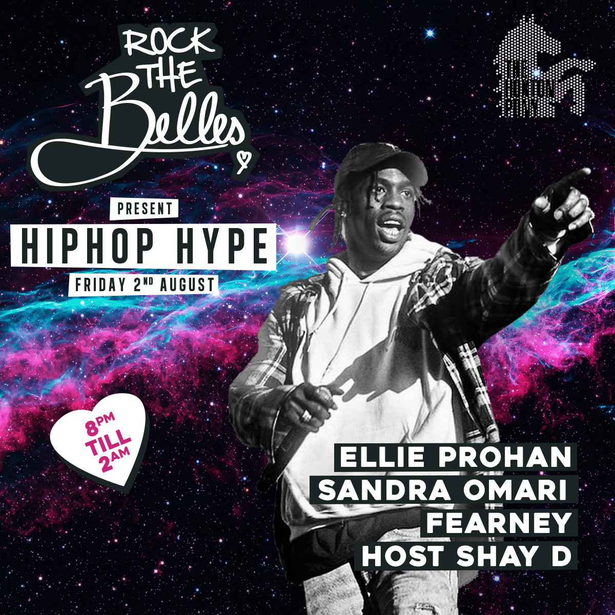 Rock The Belles x HipHop Hype x 1st Fri's