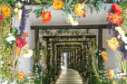 Fall In Love With The New Summer Entrance at Restaurant Ours