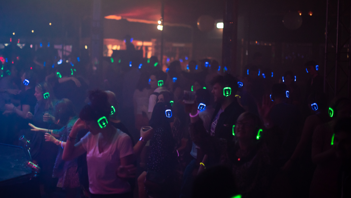 Silent Disco - Secret Warehouse NYE Edition