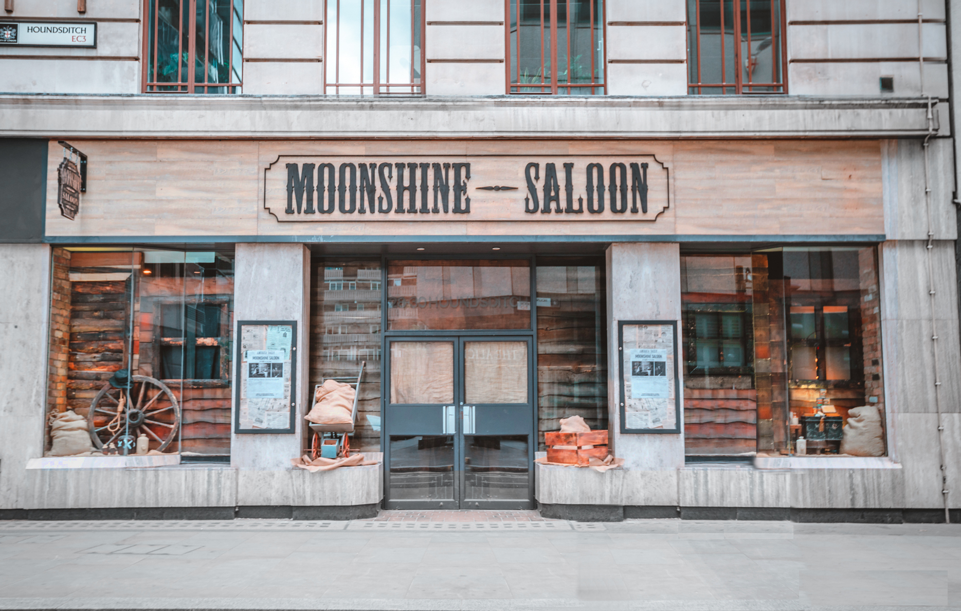 Moonshine Saloon - Private Hire