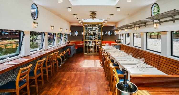 The Grand Duchess London Shell Co Restaurant Review