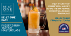 BE AT ONE BATH - VIP PUSSER'S RUM COCKTAIL MASTERCLASS
