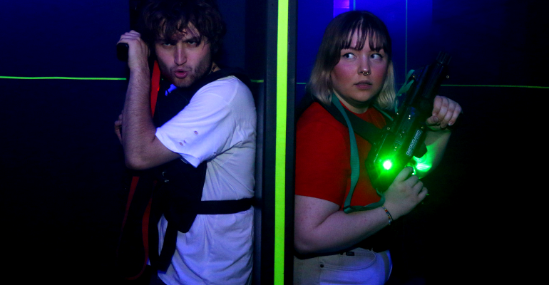 Laser Tag Nights: Month of Horror!