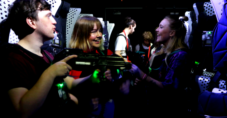 Laser Tag Nights: Arcade